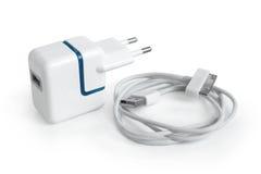 usb elektryczny adaptatoru port Zdjęcia Royalty Free