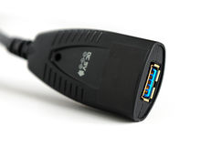 Usb 3 0 extensions photo libre de droits