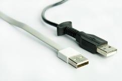 usb för kabel två Royaltyfri Bild