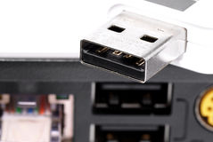USB flash. Royalty Free Stock Photography