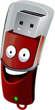 USB Flash Stock Photo