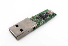 USB Flash 512 mb. USB Flash inside Stock Photos