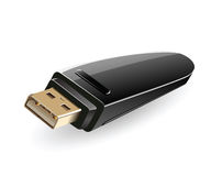 USB flash drive stock illustration