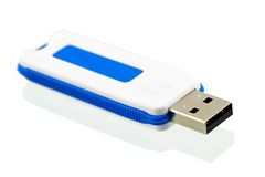 USB flash drive. S on white Royalty Free Stock Images