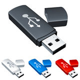 Usb flash drive. Stock Photos
