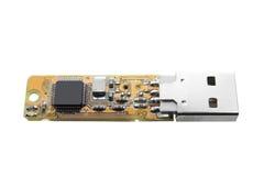 USB Flash Drive. On White Background Royalty Free Stock Photos