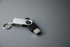USB Flash Drive. A portable 1GB USB flash memory drive Stock Images