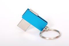 USB Flash Drive closeup on white background Royalty Free Stock Image