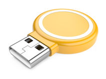USB Flash Drive. 3d image Royalty Free Stock Images