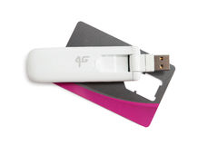 USB Flash Drive Stock Photo