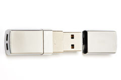 USB Flash Drive isolated Royalty Free Stock Images