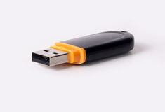 USB Flash Drive isolated on white background Stock Photography