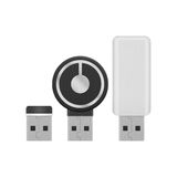 Usb flash drive for storage data with high technology is compute Stock Photos