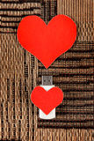 USB Flash Drives with Heart Shapes Royalty Free Stock Photo