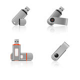 USB flash drives Stock Images