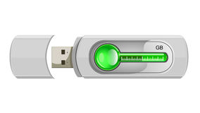 Usb flash memory Royalty Free Stock Images