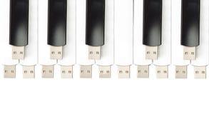 USB flash memory Stock Photos