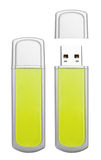 Usb flash memory Stock Images