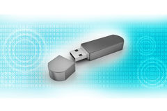 USB flash memory Stock Photo