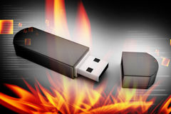 Usb flash memory Royalty Free Stock Image