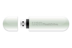 USB flash memory stick. An USB flash memory stick for data storage and backup Royalty Free Stock Photo