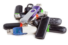 Usb flash Stock Image