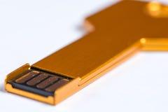 USB flash memory stick key Stock Images