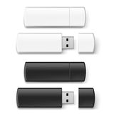 Usb flash set Stock Images