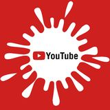 Youtube banner royalty free stock images