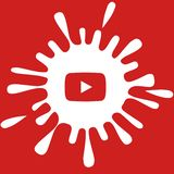 Youtube banner stock photography