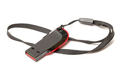 USB-flitsaandrijving Stock Foto