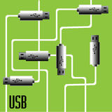 USB game Royalty Free Stock Photos