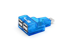 Usb hub port Royalty Free Stock Photos