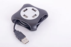 USB HUB. To Expand USB Port Royalty Free Stock Images