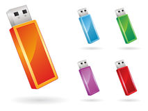 USB Icon EPS Royalty Free Stock Photography