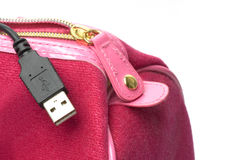 USB a ir Imagem de Stock