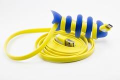 Usb kabel zdjęcie stock