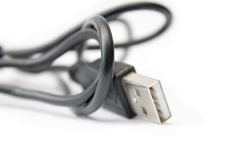 USB-Kabel Royalty-vrije Stock Fotografie