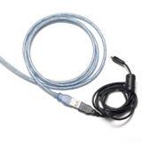 USB kabel Arkivfoto