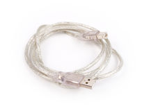 USB kabel royaltyfria foton