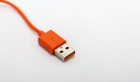 USB-Kabel für verschiedene Technologiegeräte der Verbindung Stockfoto