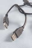 USB-Kabel, Illustration des Homosexuellen Stockbilder
