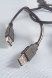 USB kabel, ilustracja homoseksualista Obrazy Stock