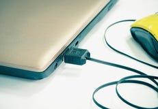 USB-Kabelgerät stockfoto
