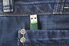 Usb key Royalty Free Stock Photography