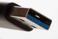 USB kontaktdon Arkivbilder