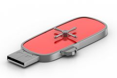 Usb Locked drive Royalty Free Stock Images