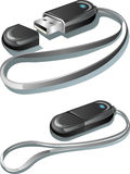 USB memory flash drive Stock Image