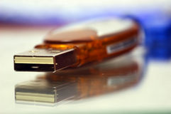 Usb memory stick royalty free stock photo