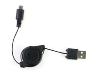 USB and mini USB Royalty Free Stock Images